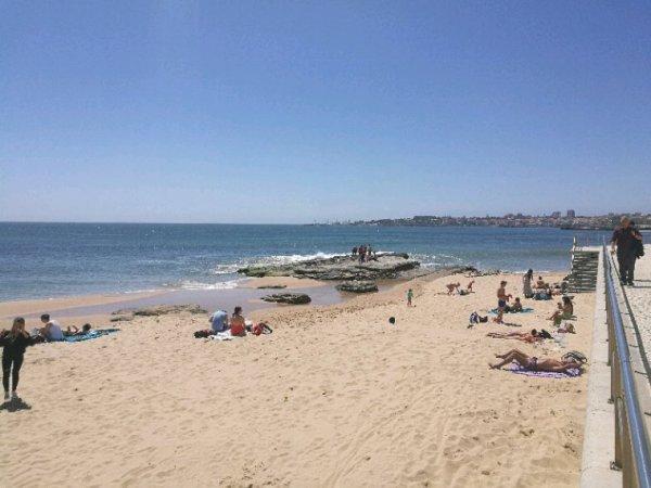 La plage d'Estoril