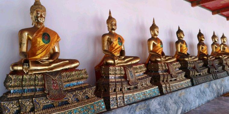Des Bouddha toujours des Bouddha