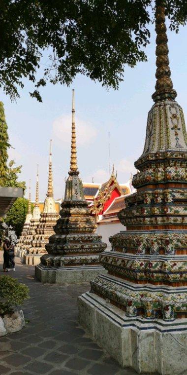 Je reviens au Wat Pho