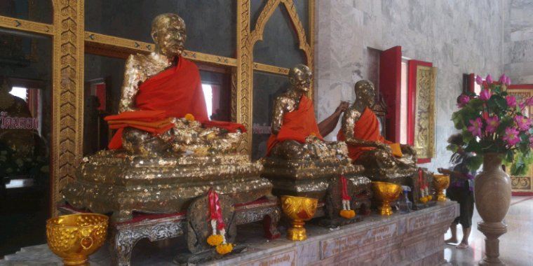 Offrandes au temple
