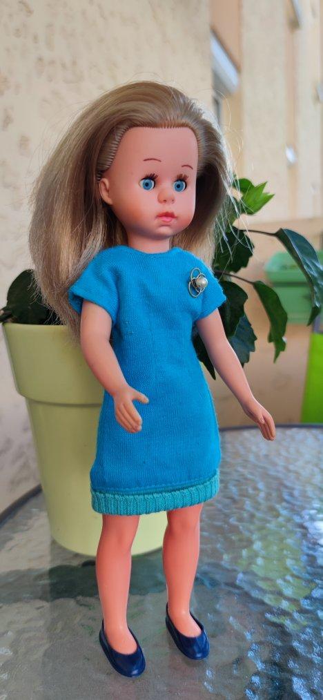 Robe bleue 1