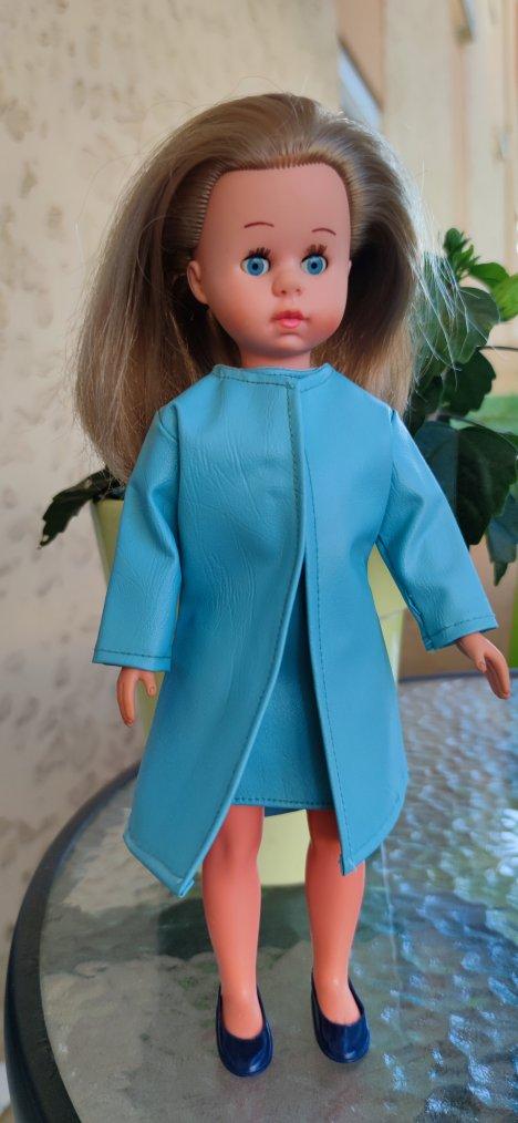 Robe bleue 3