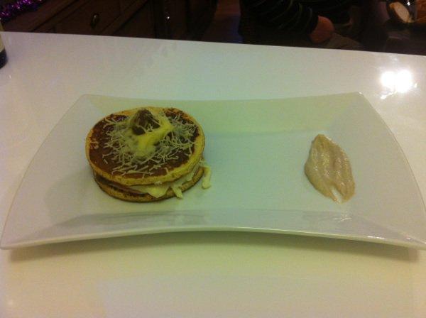Ficelle picarde ( façon hamburger )