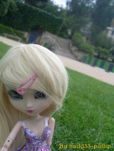 Sur l'herbe tranquille....