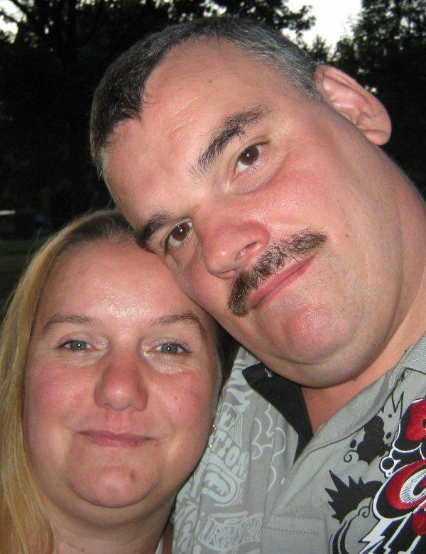 moi et mon homme que j'aime
