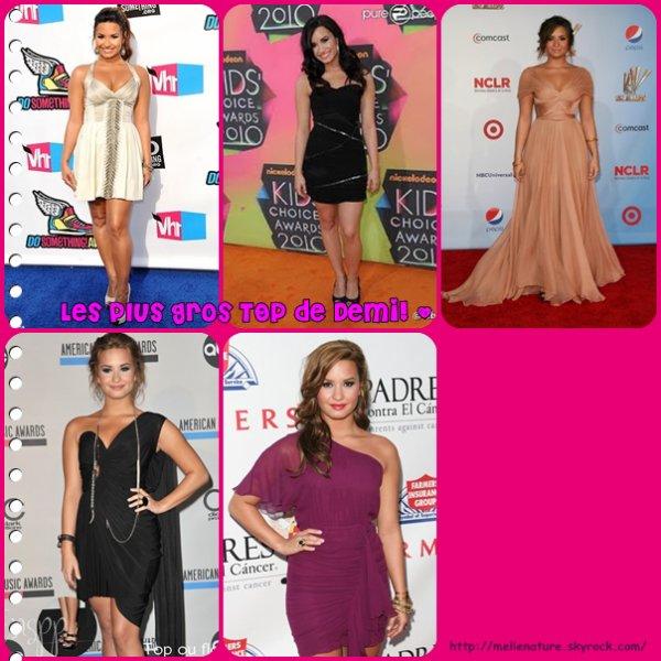 TOP/FLOP de... Demi Lovato