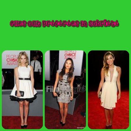 Bilan des People's Choice Awards 2012!