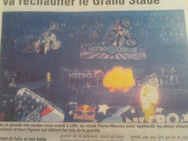 Avec Tom Pagès, Nitro Circus va réchauffer le Grand Stade