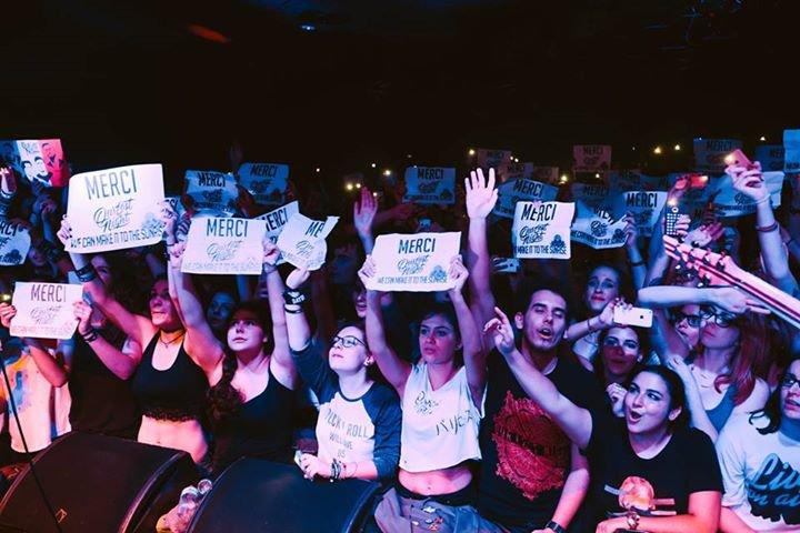 """Concert Our Last Night, 28/10/2015, Paris le """"Trabendo"""""""