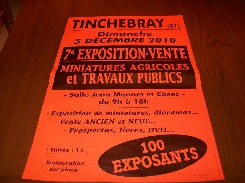 affiche de l'expo pour Tinchebray