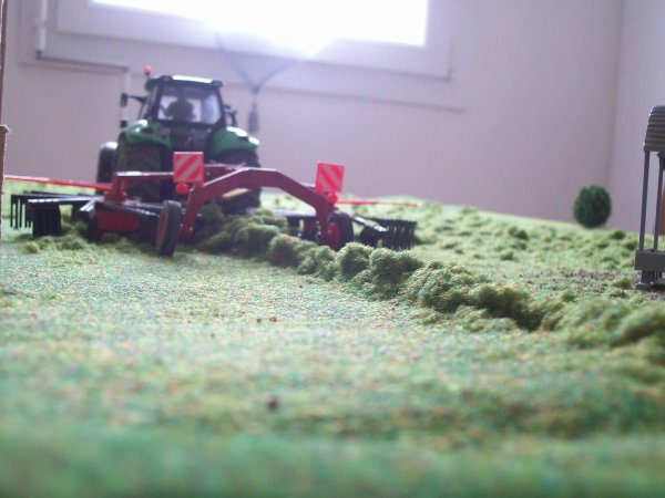 préparation pour ensilage d'herbe