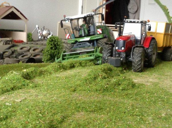 Ensilage d'herbe 2014