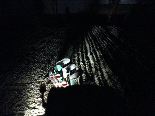 Labour avec la fin de nuit