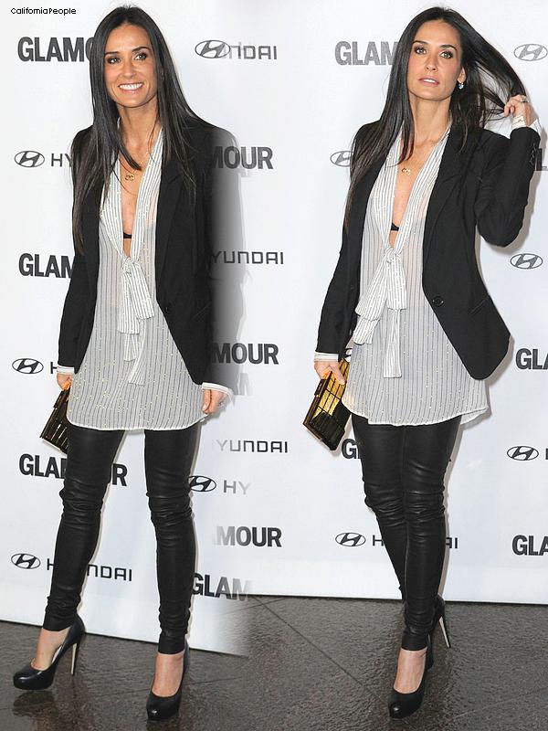 Rien d'interressant en ce moment chez les peoples .. 8) / Demi Moore au Glamour Reel Moments.
