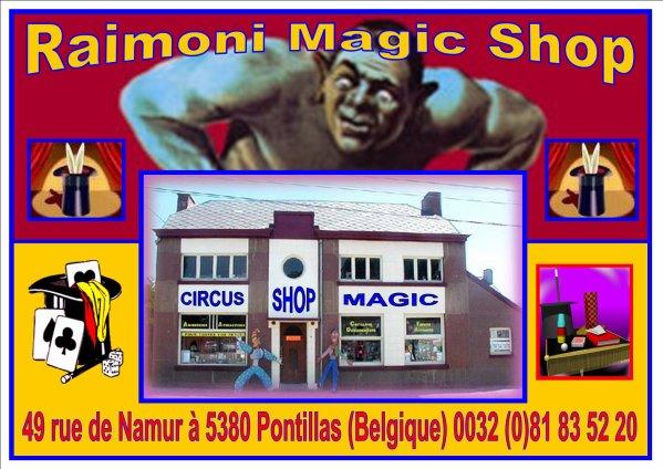 Tommy Stevens présente...La Cité Magique Raimoni Un magasin, un musée, une salle de spectacle et une librairie pour magiciens