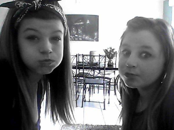 l'amour de ma vie ; ma soeur♥