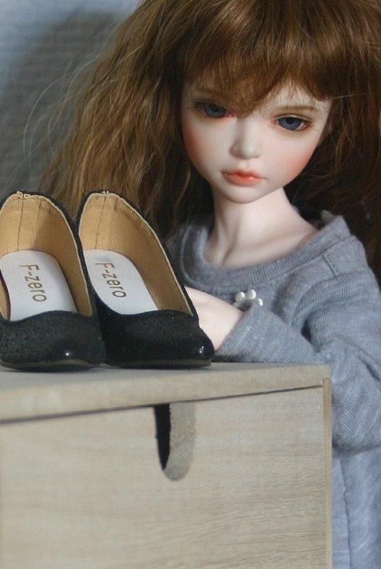 Hooooo ! Les chaussures de maman...