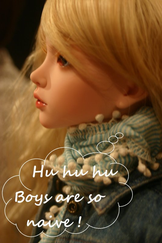 Lilou (Doll choice : Mari face, YID body, Cherie's A make-up