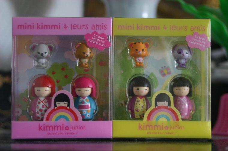 Mini Japanese Dolls