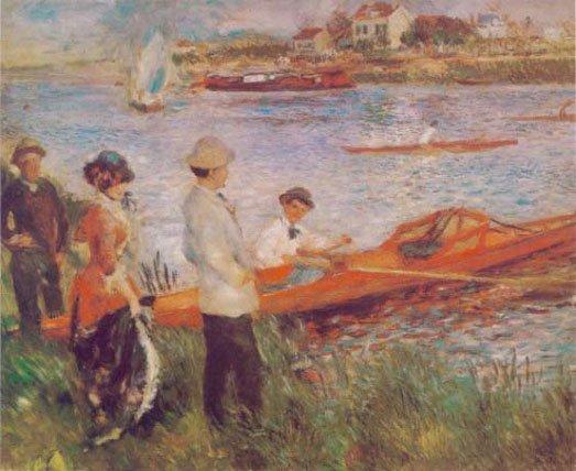 Les canotiers à Chatou - Pierre Auguste Renoir - 1879