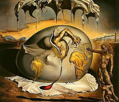 Cannibalisme de l'automne - Salvador Dali - 1936