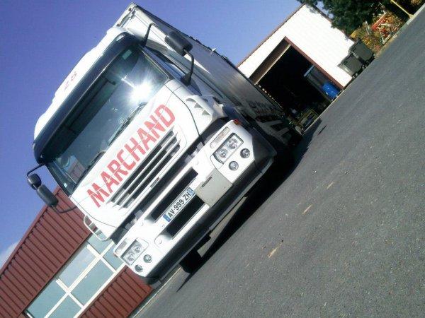 Le camion de mon Papa ♥