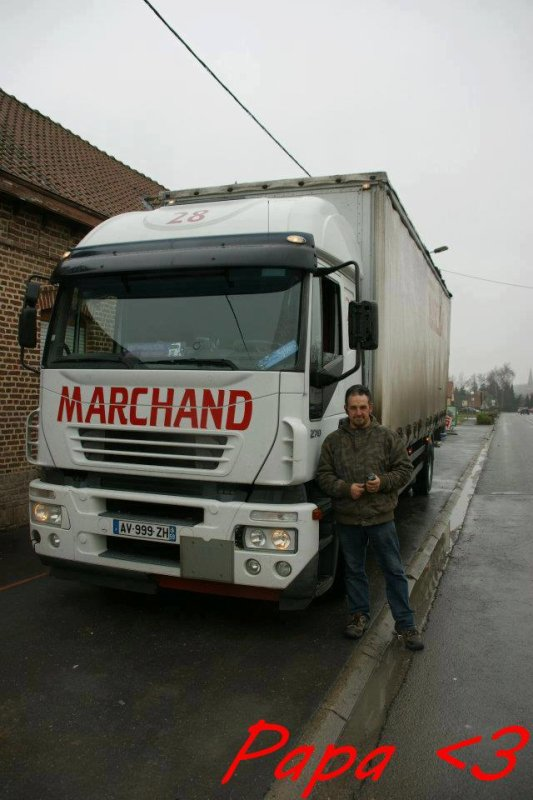 Mon Papa et Son Camion ♥
