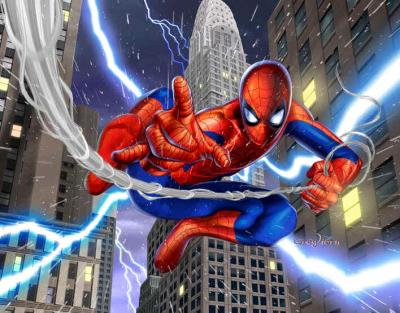 Spiderman en dessin anim spider man - Dessins animes spiderman ...