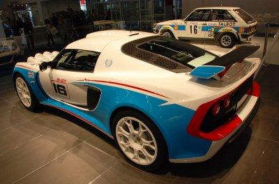 salon de francfort 2011 renault megane RS trophy ,lotus exige S ,lotus exige R-GT