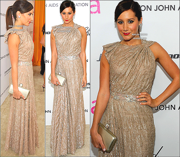 -27/02/11 ► Ashley vue au 19th Annual Elton John AIDS Foundation Academy Awards Viewing Party.TOP ?  -