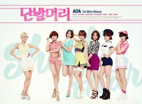 AOA-Short Hair / AOA-Short Hair (2014)