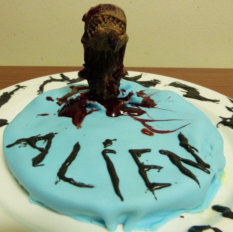 Moulage gâteaux Alien