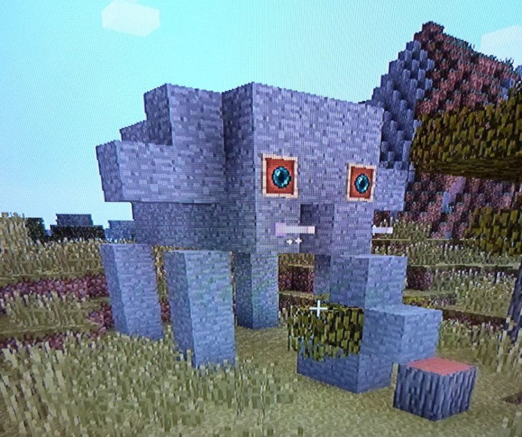 Mes inventions dans Minecraft