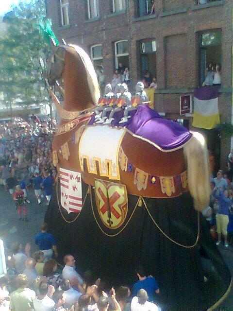 cheval bayard de  notre ducasse dath