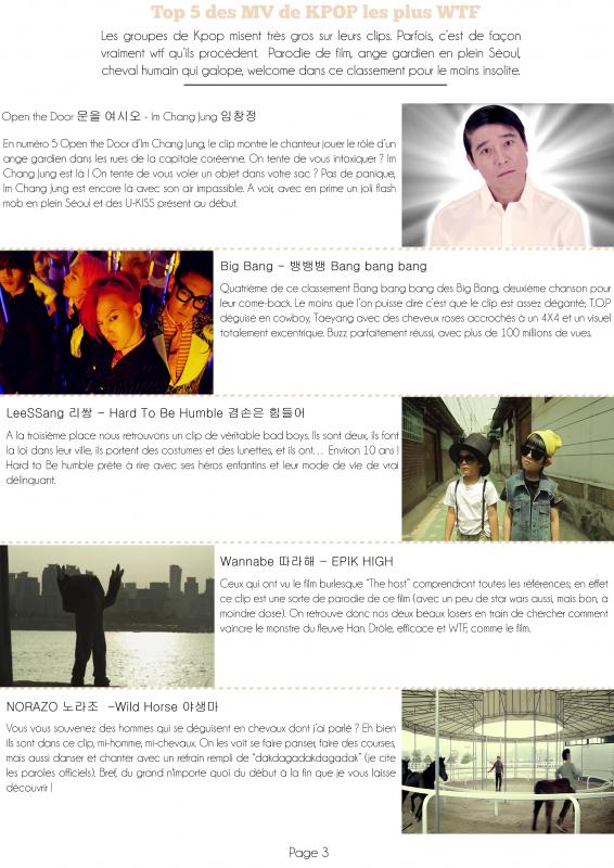 Corée du Sud ▌Top 5 des MV les plus WTF (selon moi)