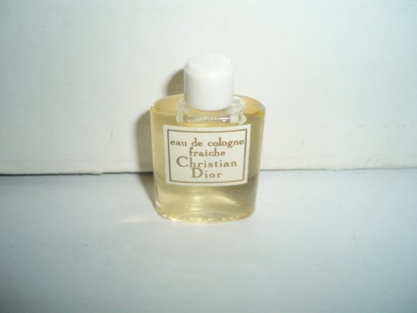 Rare miniature Eau de Cologne Fraiche de Christian Dior