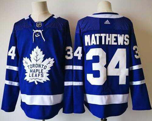 Jerseyshopcn.ru sale Adidas Maple Leafs #34 Auston Matthews Blue Home Authentic Stitched NHL Jersey