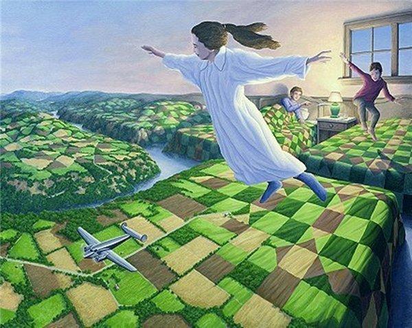 ....Le rêve est le meilleur moyen de s'évader , on peut aller ou bon nous semble sans être jugé ....
