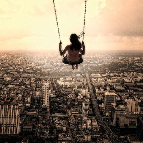 ....La vie vue de haut ....