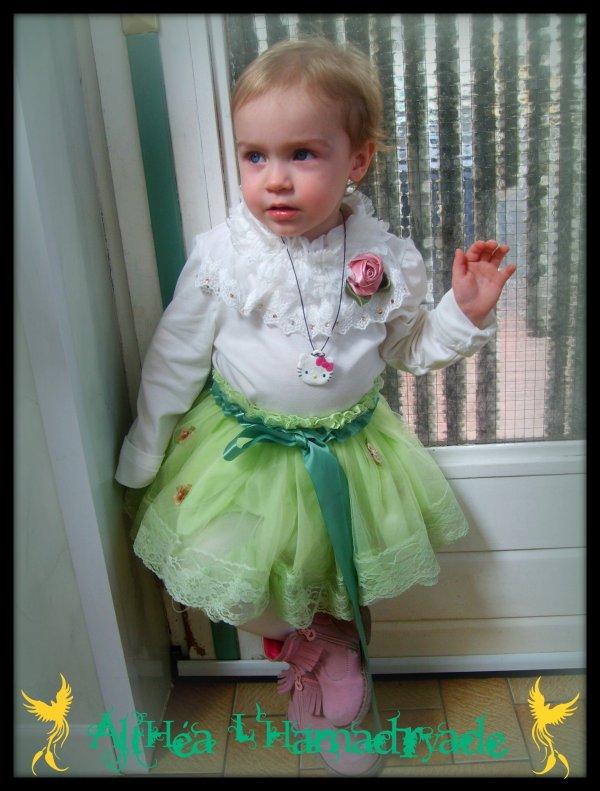 ....Ma petite Gaëlle à Pâques ....