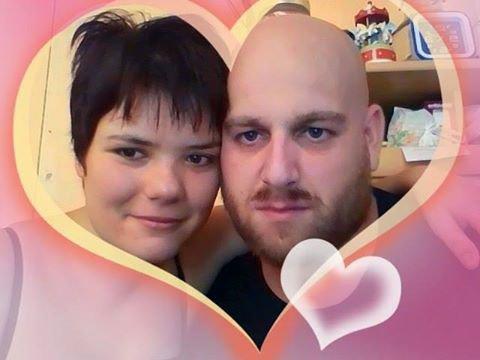 ma pote marion avec son cheri mickael