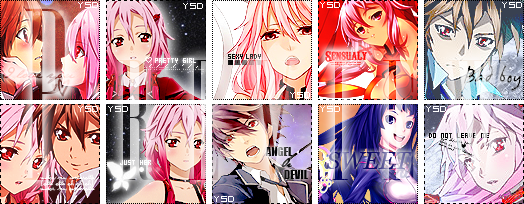 . __________________◌ Pack Avatar Guilty Crown ◌__________________