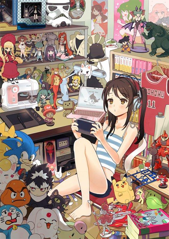 Anime Expo Art Show - Chambre Otaku