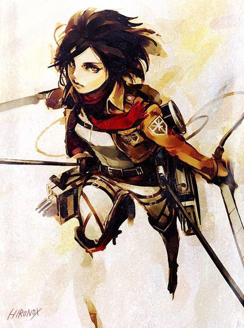 L'Attaque des Titans - Mikasa