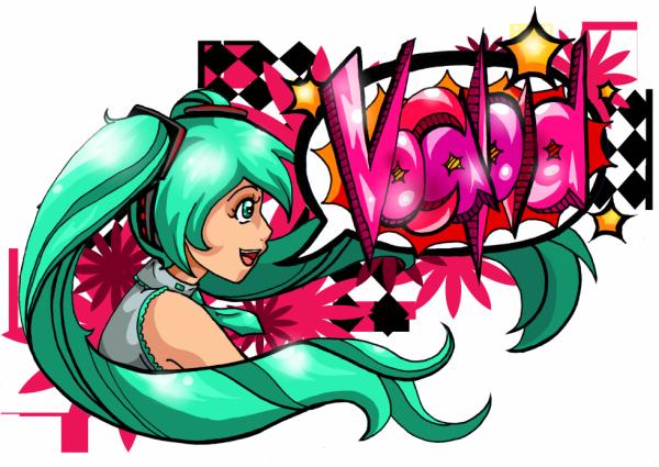 Graffiti | Vocaloid ♫ Miku Hatsune