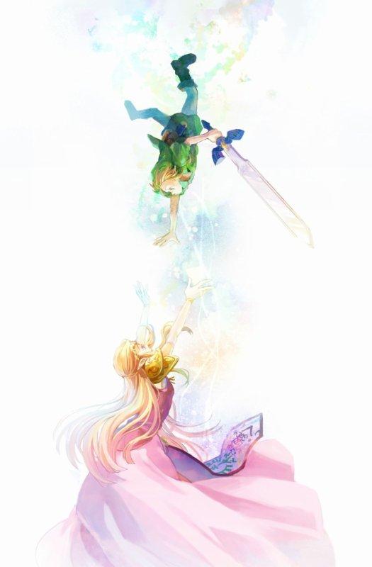 Zelda et Link   Ocarina of Time