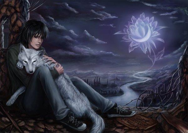 Wolf's Rain. Kiba