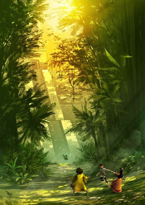 au c½ur de l'Amazonie