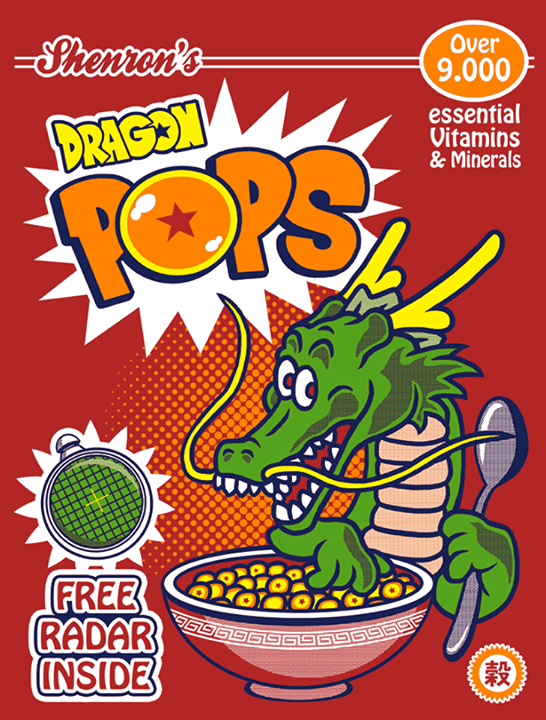 Dragon Ball - Céréale ✪ Shenron's - DRAGON POPS
