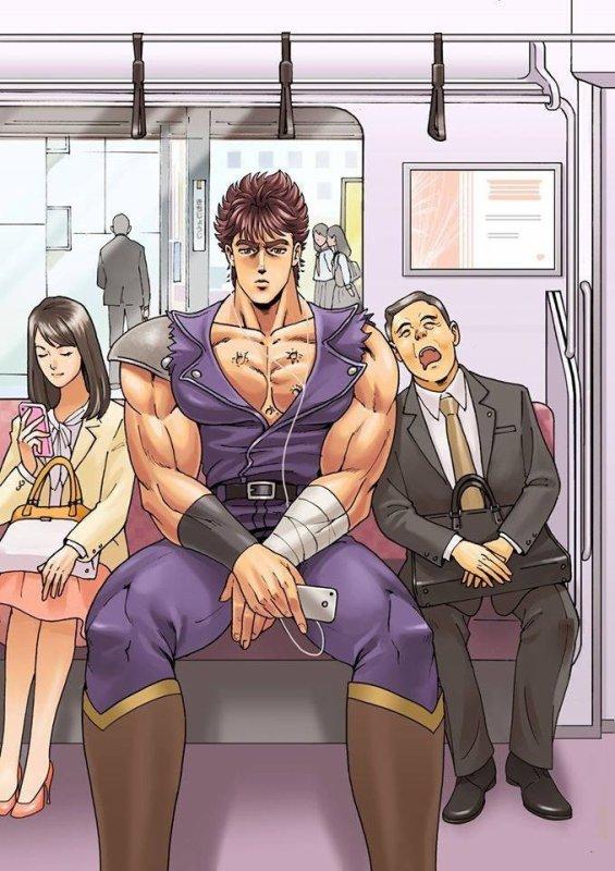 Ken dans le métro